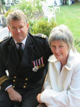 Tony Perriam and Dianne Douglas, both of Invercargill.