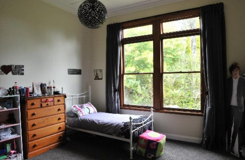 Large windows, now double-glazed, allow plenty of light into the house. Danielle and Gemma share...