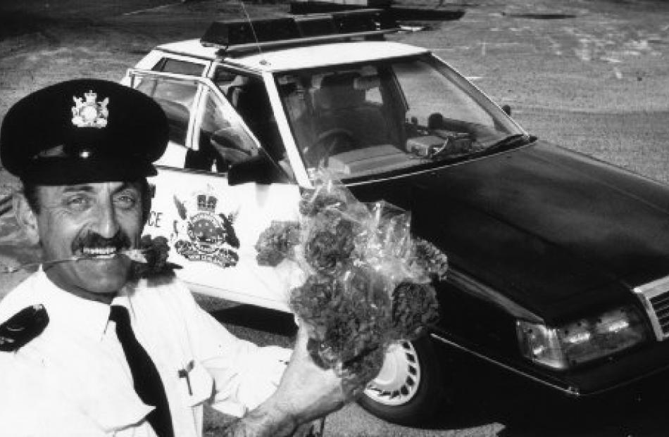Traffic officer Mal Parker in 1991.