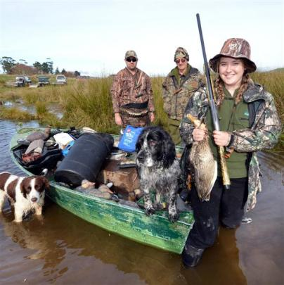 Gemma Bonney returns from her fourth duck shooting opening weekend on Lake Tuakitoto, where she...