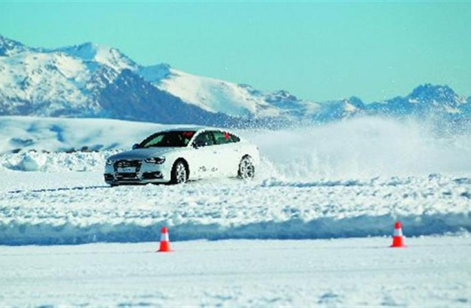 Amateur drivers will have the chance this winter to try  driving on ice and snow at the Southern...