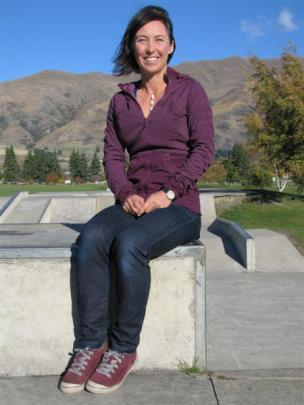 Wanaka skate park project manager Trish Wrigley is hoping work on park extensions can begin in...