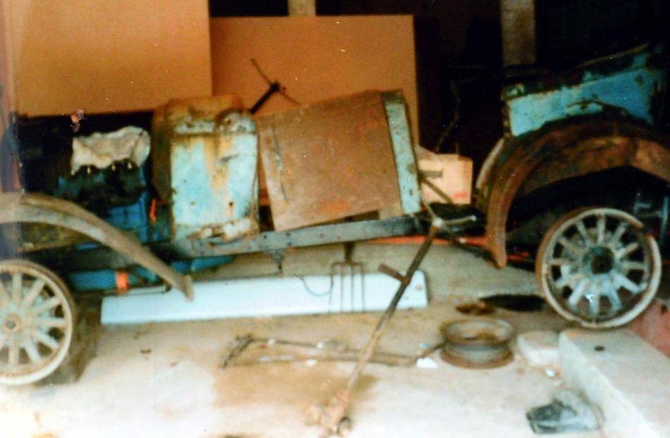 The Whippet in its pre-restoration condition. Supplied photo