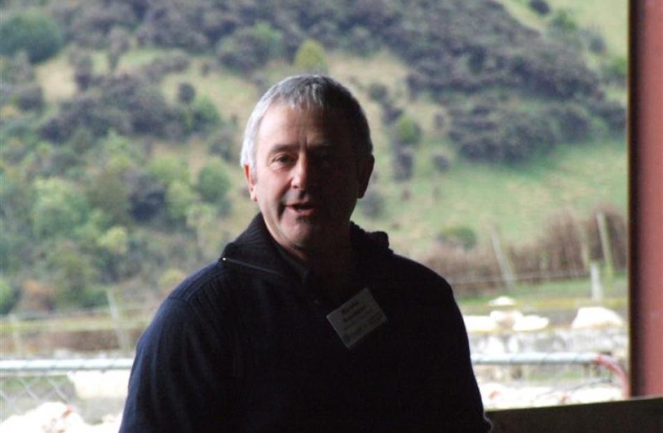 Puerua Valley farmer Howie Gardner.