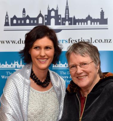 Alexandra Bligh and Lynley Hood, both of Dunedin.