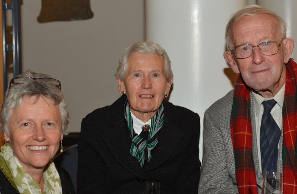 Raewyn Macfie of Mosgiel, and Helen and Robert Macfie of Alexandra.