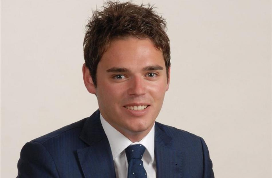 Clutha-Southland National Party candidate Todd Barclay.