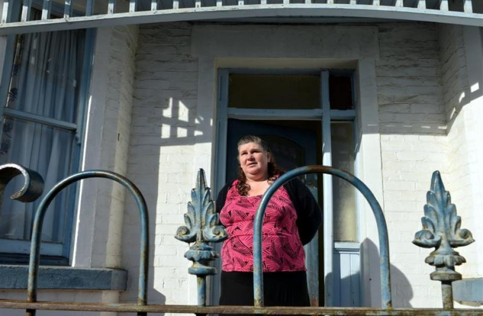 Maria Espie is happy to call South Dunedin home after leaving Christchurch last year.