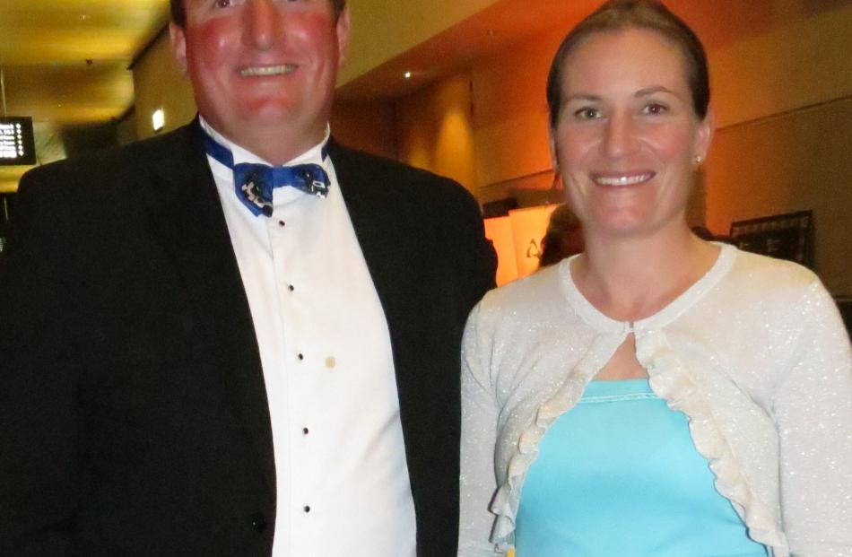 Southland-Otago New Zealand Dairy Industry Awards regional co-conveners Helen and James...