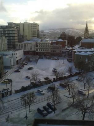 View from Consultancy House Dunedin. Photo by Tony Eyre.