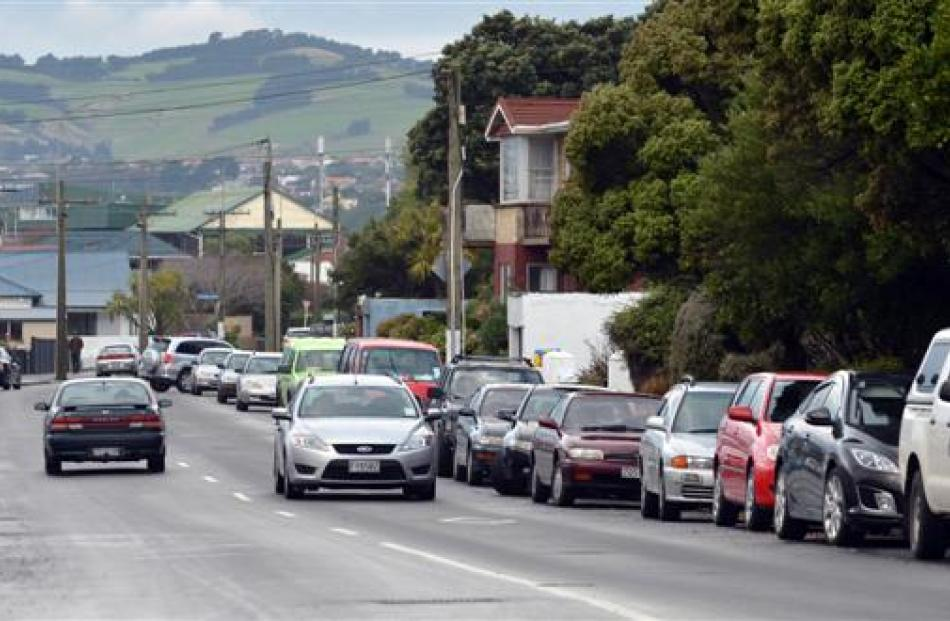 The council is proposing removing parking on the seaward side of Victoria Rd (at the right in...