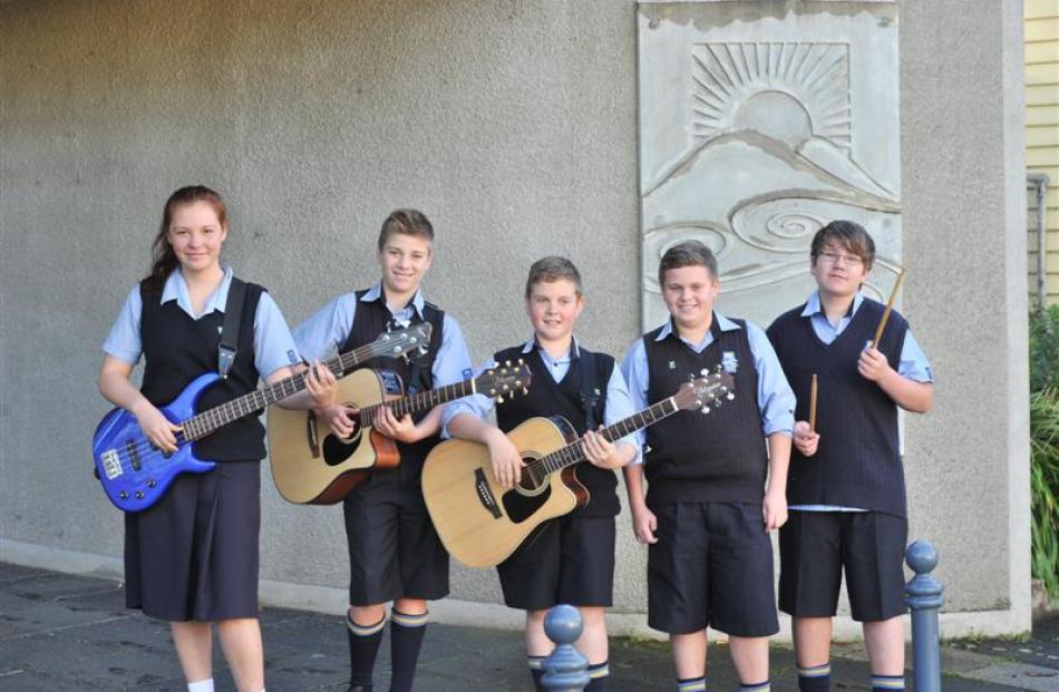 Members of 3rd Degree Riana Haua (13), Kaleb Reid (13), Codi Lynn (13), Mason Bouzaid (13) and...