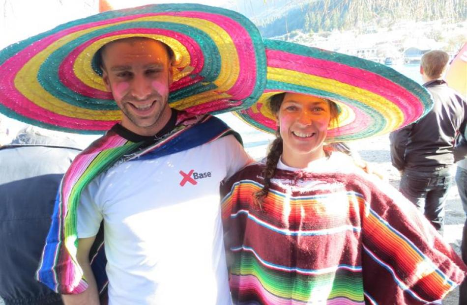 Matthew Simari and Karina Page, both of Queenstown.