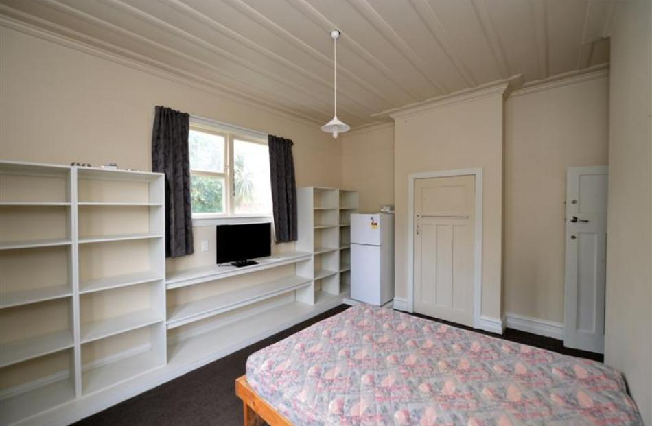 A room to rent in a Dunedin boarding house in Maitland St for $160 a week. Photo by Stephen...