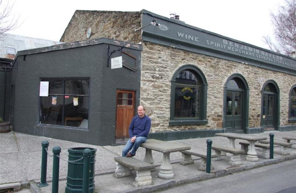 Olivers co-owner David Ritchie plans to reopen the restaurant and replace the lean-to on the...