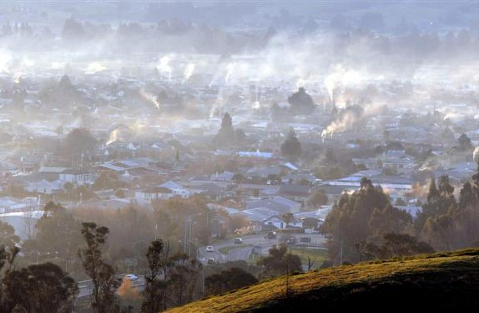 A bad day for air quality in Mosgiel. The town recently equalled its highest-ever air pollution...