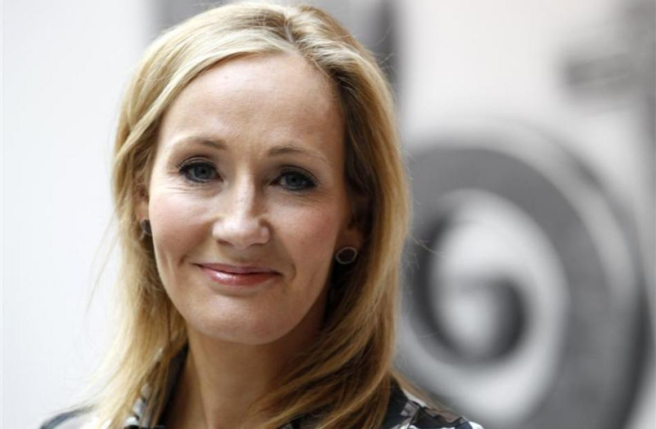 J K Rowling. Photos by Reuters.