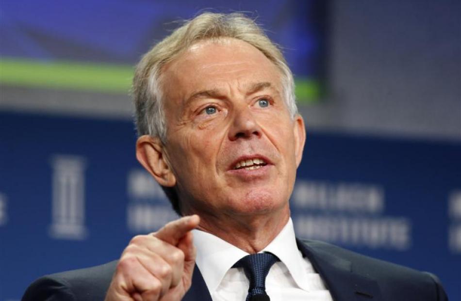 Tony Blair...