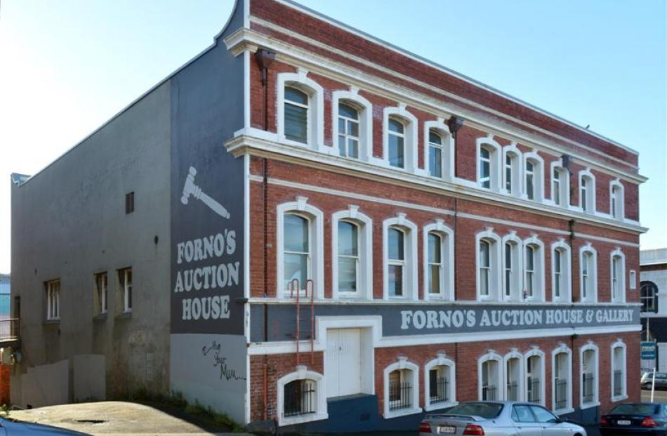 Australian stencil artist Be Free is pencilled in to do a wall of the Forno's building in Dunedin.