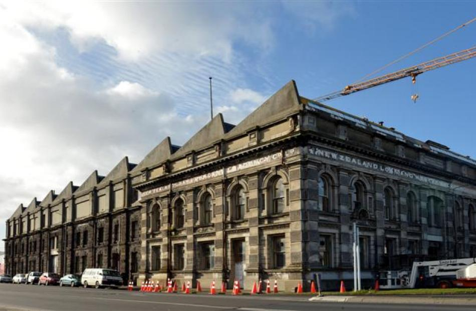 The Mercantile Agency building in Dunedin. Photo by Peter McIntosh.