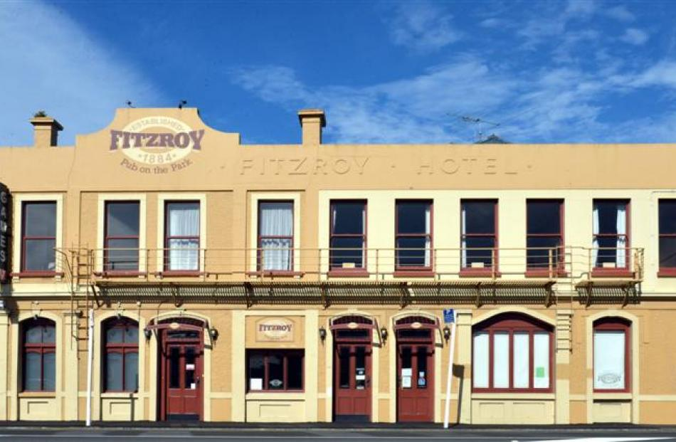 The Fitzroy Pub on the Park.