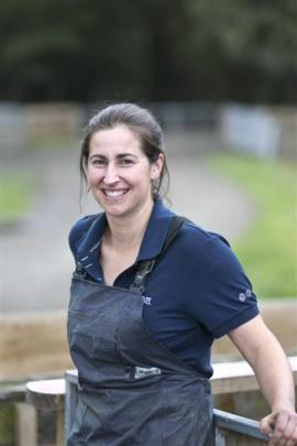 New Zealand Merino Company genetics project manager Anna Vaughan. Photo supplied.