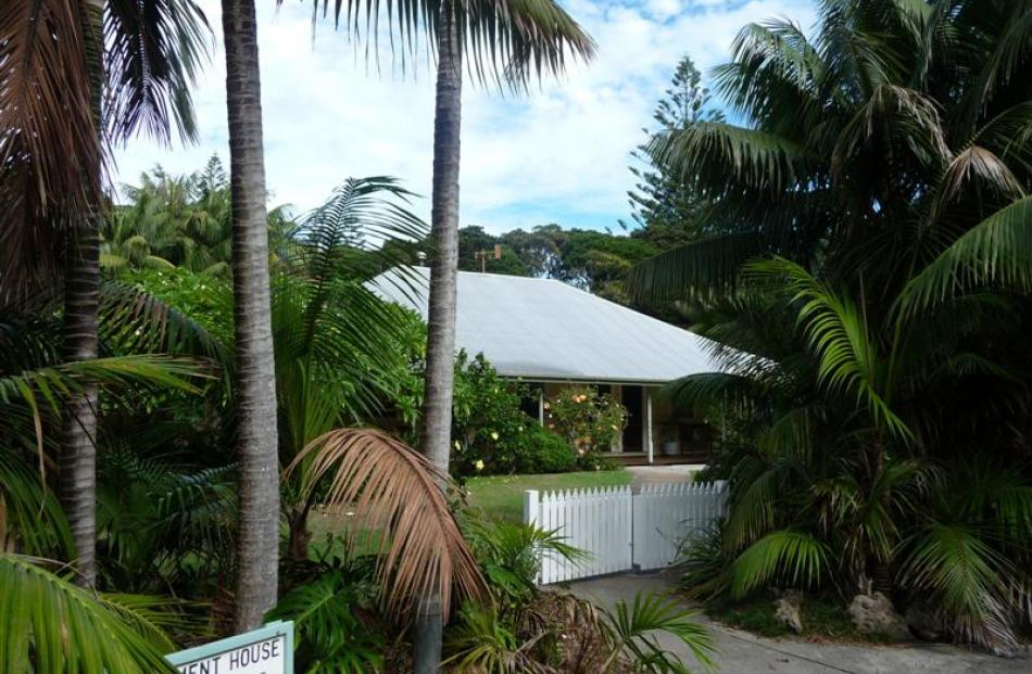 Government Houseon Lord Howe Island.