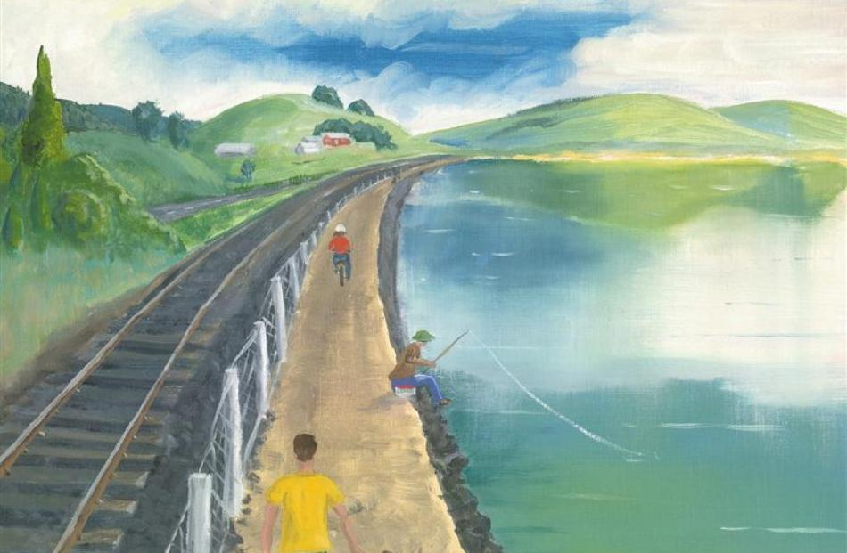 An artist's impression of the proposed walkway. Image supplied.