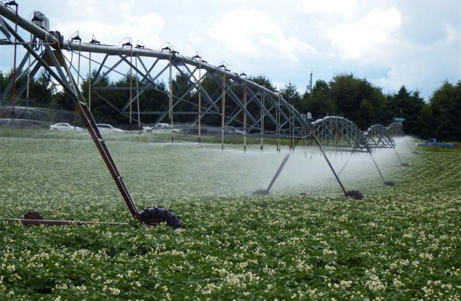 Ontario's first variable-rate irrigation installation.