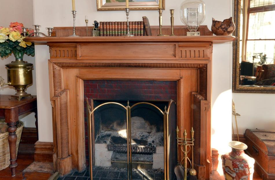 With most of the original fireplaces gone, replacements had to be found at demolition sites. A...