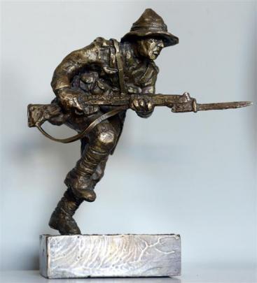 Bronze sculpture by Matt Gauldie.