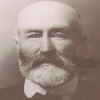 Duncan Sutherland, the first club president, from 1906 to 1911. He came to New Zealand to manage...