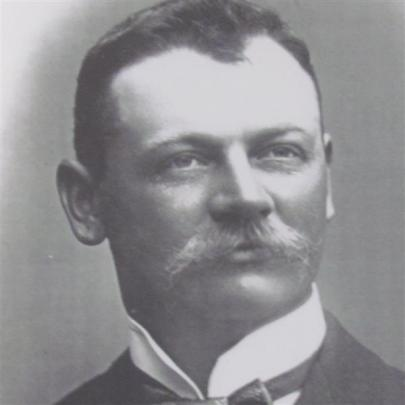William Gardiner, the  club's second and longest-serving president from 1911 to 1931. He was the...