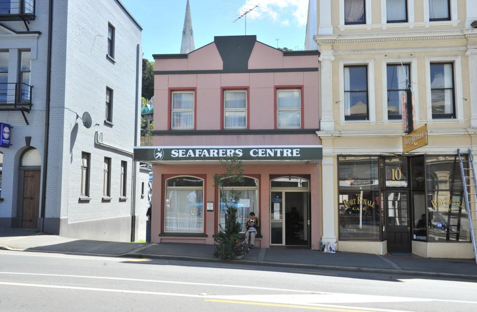The Otago Seafarers Centre has been based in this building in George St, Port Chalmers, since 1999.