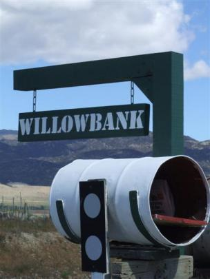 The Willowbank mailbox.