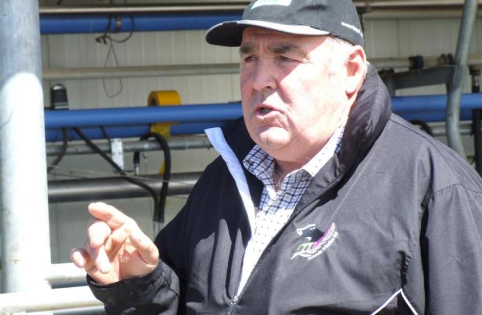 Outram dairy farmer Denis Aitken.