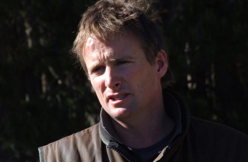 Waikouaiti farmer Rob Lawson.