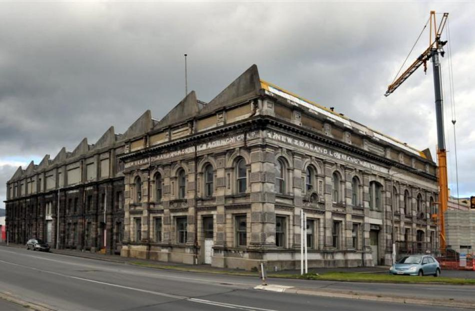 The Loan and Mercantile building.