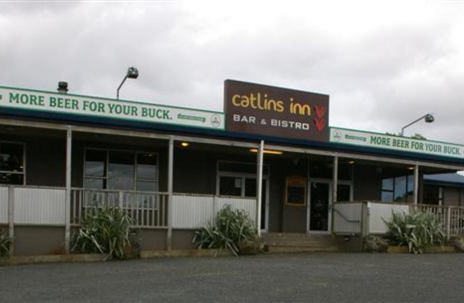The Catlins Inn in Owaka. Photo by Hamish MacLean.