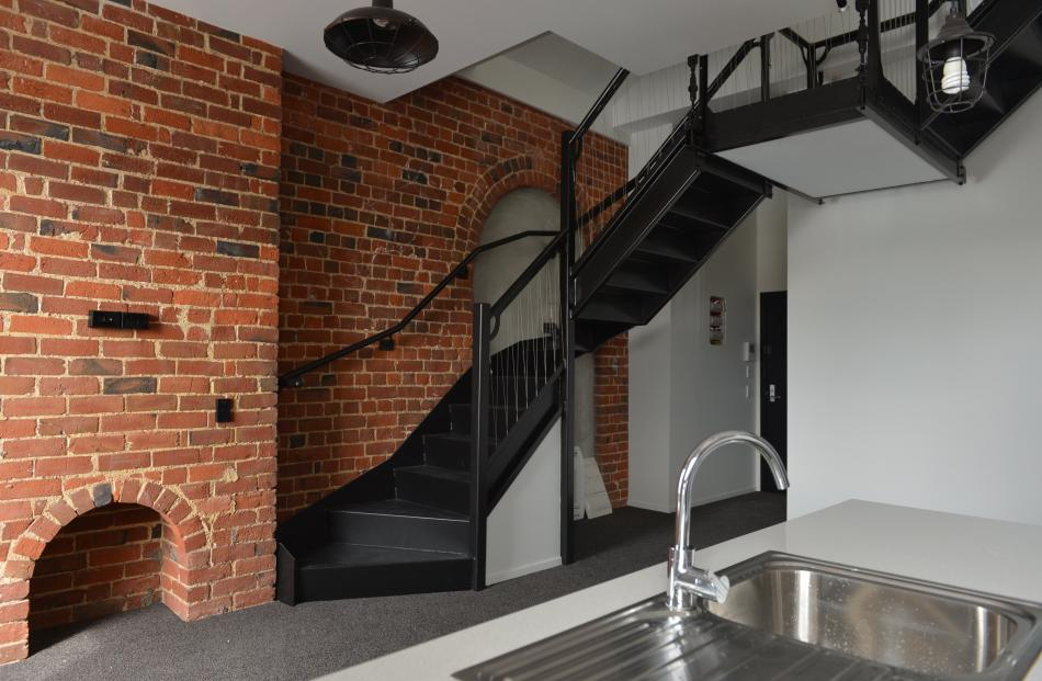 An internal staircase