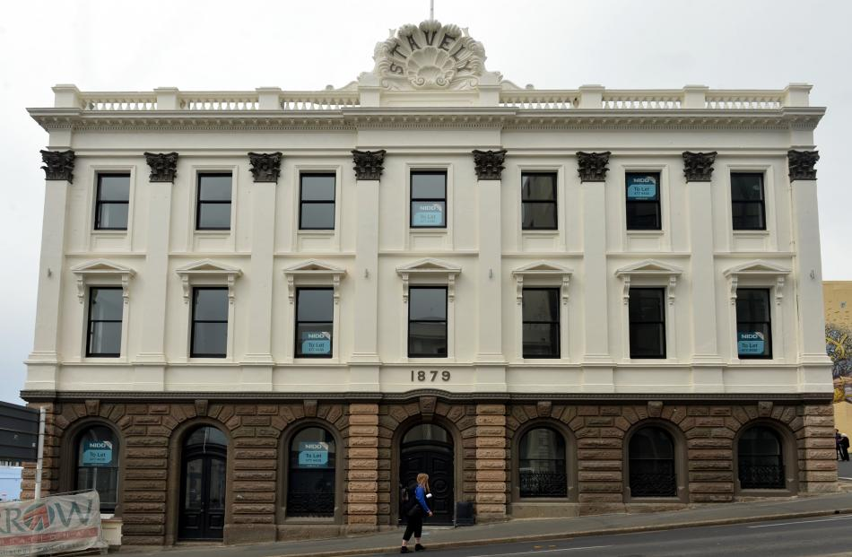 """The Stavely Building in Jetty St is being returned to its """"pretty elaborate"""" former state after a..."""