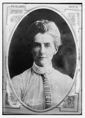 Edith Lousia Cavell herself.
