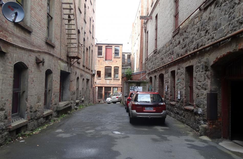''Burlington Yard''. Photo by Peter Entwisle.