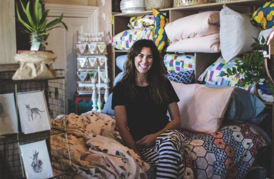 Cristy Holding, Housekeepers Design owner. Photo by Rebecca Ryan.