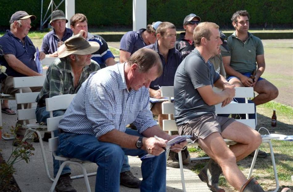 Strath Taieri farmers gathered in Middlemarch last week for a rural community barbecue.
