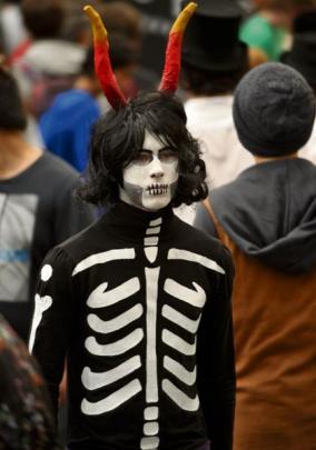 Noah Graham Walker (17), as Kurloz, from the web comic series Homestuck.