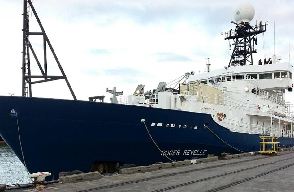 United States research vessel Roger Revelle.