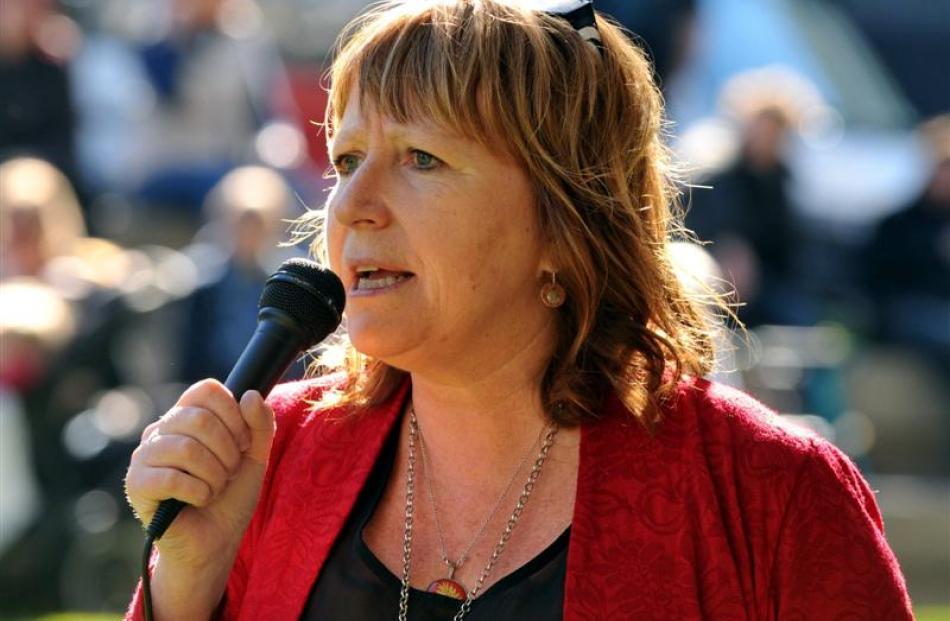 Dunedin South MP Clare Curran. Photos by Gregor Richardson.
