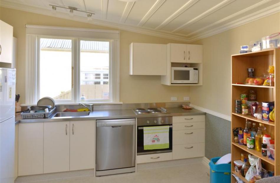 Inside one of Mr Casey's flats in North Dunedin.