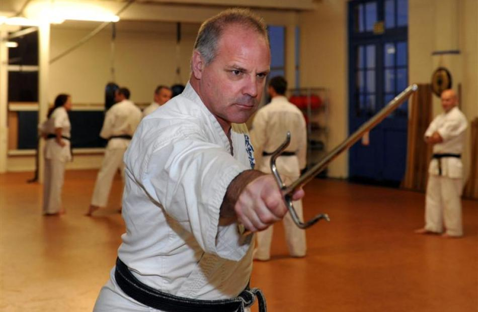 Toitu Otago Settlers Museum curator and historian Sean Brosnahan has a black belt in karate, and...